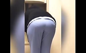 Enfermera empinada calzon con culo grande