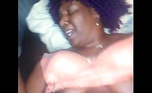 Hmm she moaning