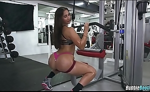 Nice Oiled Up Gym Booty