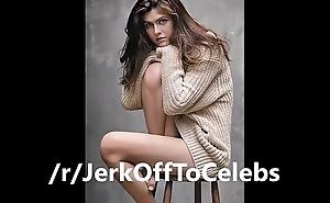 Alexandra Daddario Jerk Off Challenge
