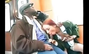 Sexy redhead fucked prevalent public by Somali Bantu refugee