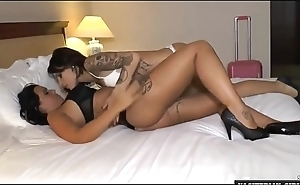 French sexy babes having lesbian sex