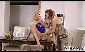 Wicked babe makes pissing and about to grabs toys for penalty