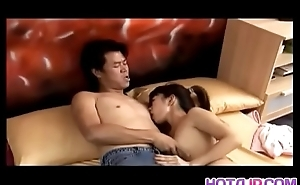 Vivian impresses her man with the best irrumation in bed - More at hotajp com