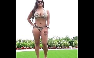 Big Jugs Aunties Bikini Sex