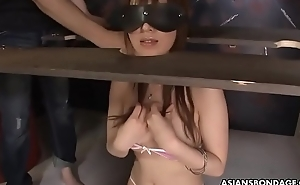 Submissive Asian woman gets humiliated with an increment of mouth drilled by deviants