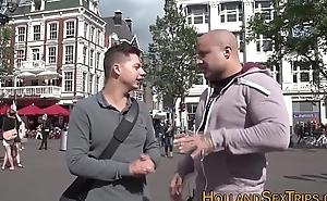 Dutch whore acquires fucked