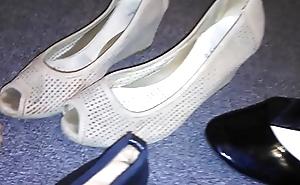 Stolen heels flats wedges off my sexy oriental neighbour (Veronica)