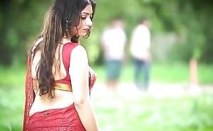 Hot Bhabhi in Saree showing stuff - Dare 1