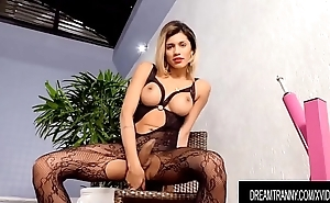 Hot Blonde Ladyman Dani Peterson Gets Fucked away from Dildo increased by Machine