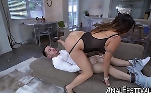 Bombshell Julianna Vega doggystyled after 69 fun