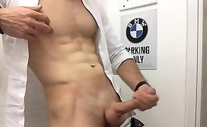 sexy man in uniform wank