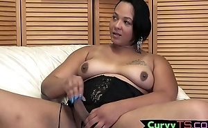 Hot ts girl shows not present her curvy body