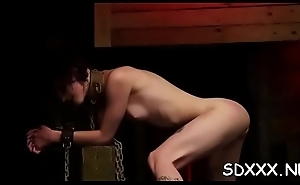 Total bdsm lechery to what place guy forces his big weenie in slut'_s mouth