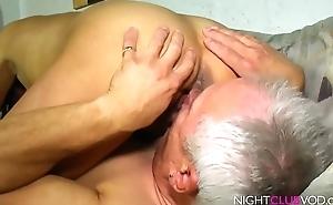 Granny got hardcore drilled