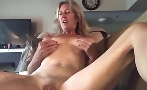 Horn-mad granny with small Bristols on cam - Join hotcamgirls69.com for free live camgirls