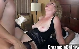 Huge Creampie From A handful of Youthful Guys