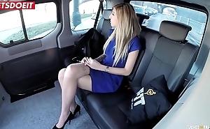 LETSDOEIT - Czech Babe Enticed plus Fucked Hardcore in Uber