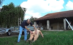 Suzisoumise humiliated on her knees