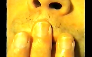 3 - Olivier hand talisman engulfing his thumb, licking his fingers and biting his nails hand worhsip compilation 3 (recorded in 2003)