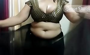 Sexy shona bhabhi teaching how to affect saree