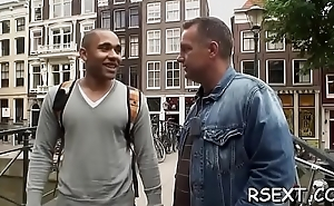 Horny chap pays a hot streetwalker for some real hardcore fun