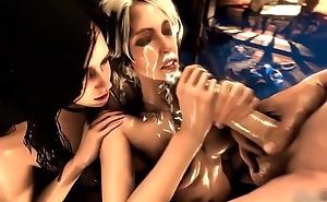 Witcher 3 Ciri Yennefer Group Pov Oral-sex ►► FULL PORNO GAME on HOTMOD.PRO