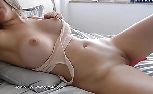 Hot girl making love chat