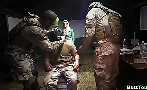 Treating Soldier for his Birthday