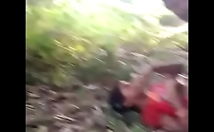 Indian girl alfresco mating