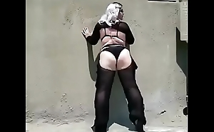 BBw pawg goth Annamarx twerking huge ass