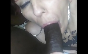 Neighbor wife back at rolling in money ever after filled her throat with cum