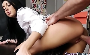 Order of the day coed gets drilled