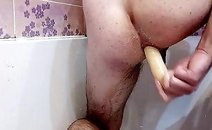 Making my chink with Thirty cm long sex-toy